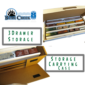 Model Train Storage and Carrying Case
