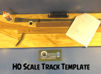 Track Template Layout Kit